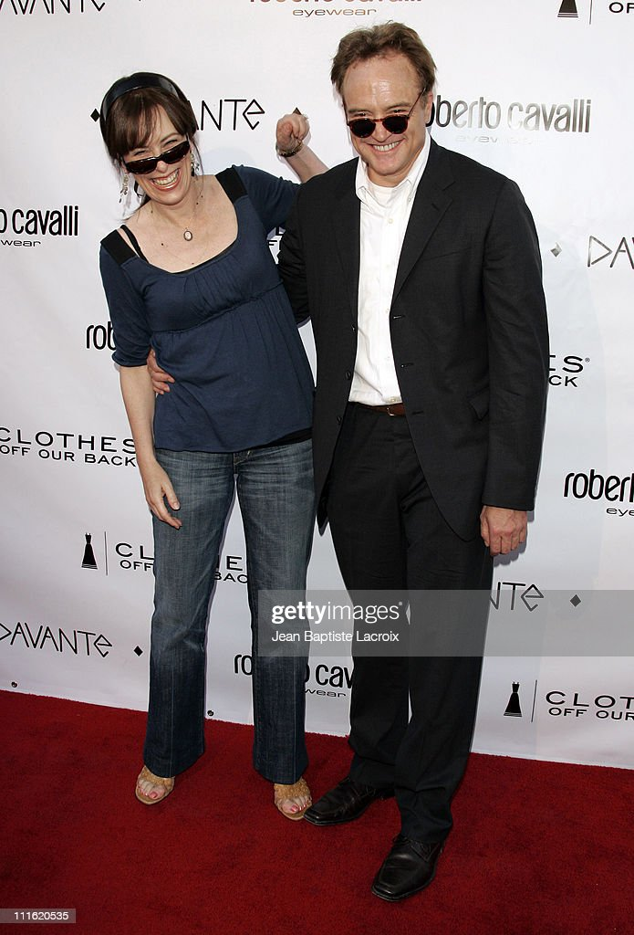 Jane Kaczmarek and Bradley Whitford during Davante Rodeo Drive Boutique Opening at Davante in Beverly Hills, California, United States.