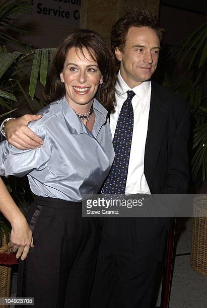 Jane Kaczmarek and Bradley Whitford during Fulfillment Fund Honors Jeffrey Katzenberg at Stars 2001 Benefit Gala at Hollywood Highland in Hollywood...