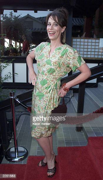 Jane Kaczmarek at Fox TV's TCA party at Yamashiro's restaurant in Los Angeles Ca 7/18/01 Photo by Kevin Winter/Getty Images