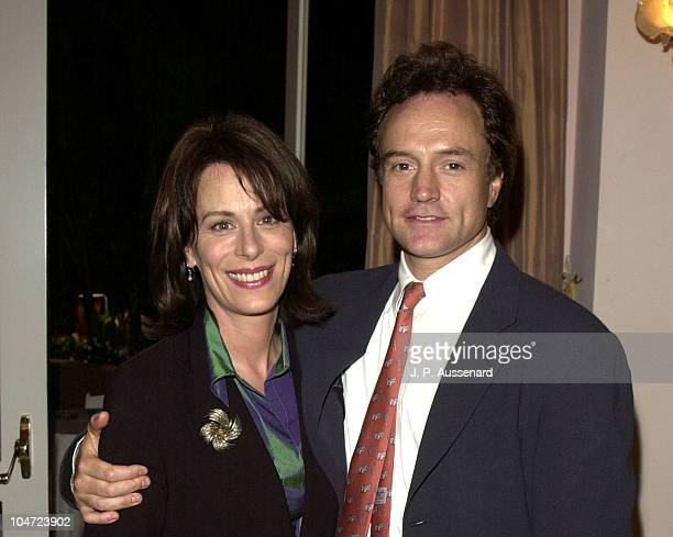 Jane Kaczmarek Bradley Whitford during Los Angeles 11th Beat The Odds Awards at Beverly Hills Hotel in Beverly Hills California United States