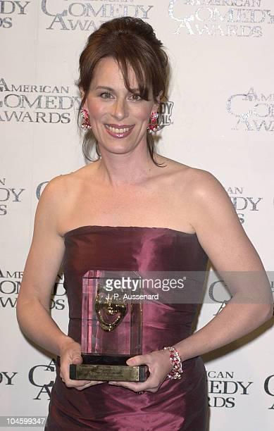 Jane Kaczmarek during 2001 American Comedy Awards at Universal Studios in Universal City California United States