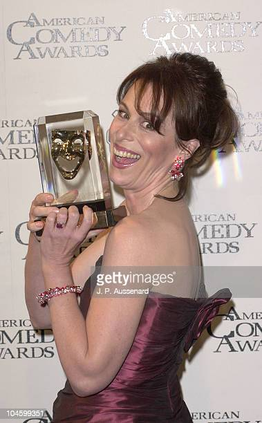 Jane Kaczmarek during 2001 American Comedy Awards at Universal Studios in Universal City California United States
