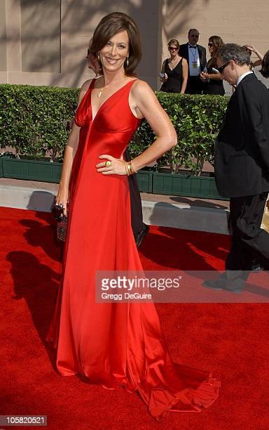 Jane Kaczmarek during 58th Annual Creative Arts Emmy Awards - Arrivals at Shrine Auditorium in Los Angeles, California, United States.