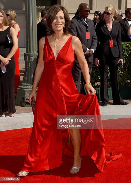 Jane Kaczmarek during 58th Annual Creative Arts Emmy Awards Arrivals at Shrine Auditorium in Los Angeles California United States