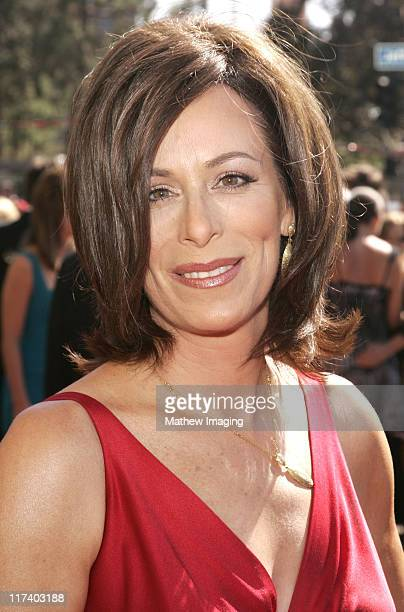 Jane Kaczmarek during 58th Annual Creative Arts Emmy Awards Arrivals at The Shrine Auditorium in Los Angeles California United States