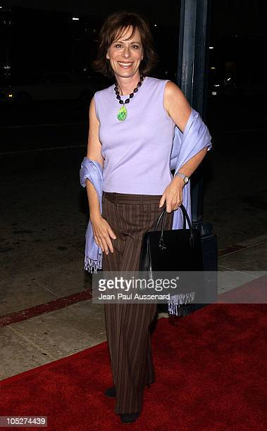 Jane Kaczmarek during ATAS Honor the 55th Annual Primetime Emmy awards Nominees at Spago in Beverly Hills California United States