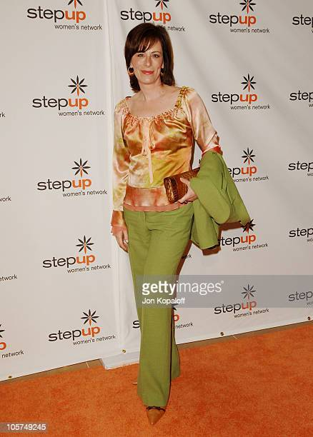 Jane Kaczmarek during Step Up Women's Network Inspiration Awards Luncheon Arrivals at Beverly Hilton Hotel in Los Angeles California United States