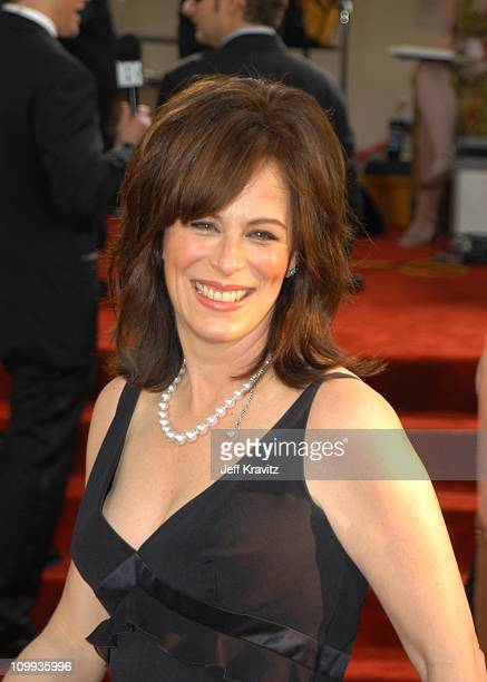 Jane Kaczmarek during The 60th Annual Golden Globe Awards Arrivals at Beverly Hilton Hotel in Beverly Hills CA United States