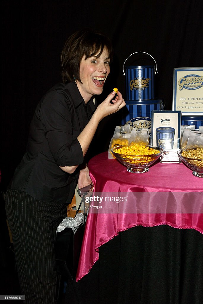Jane Kaczmarek with Garrett Popcorn Shops during 2004 Screen Actors Guild Awards - Backstage Creations Day One at The Shrine Auditorium in Los Angeles, California, United States.