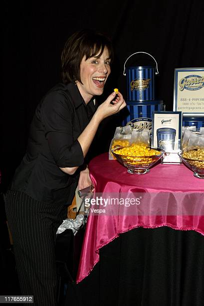 Jane Kaczmarek with Garrett Popcorn Shops during 2004 Screen Actors Guild Awards Backstage Creations Day One at The Shrine Auditorium in Los Angeles...