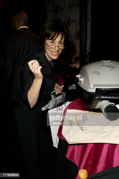 Jane Kaczmarek with Weber Q during 2004 Screen Actors Guild Awards Backstage Creations Day One at The Shrine Auditorium in Los Angeles California...