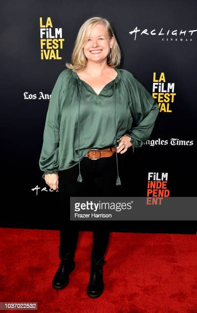 Jane Kelly Kosek attends the 2018 LA Film Festival Opening Night Premiere Of 'Echo In The Canyon' at John Anson Ford Amphitheatre on September 20...