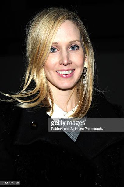 Jane Keltner De Valle attends the Alexander Wang Fall 2012 fashion show during MercedesBenz Fashion Week at Pier 94 on February 11 2012 in New York...