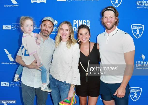 Jane Kimmel Jimmy Kimmel Molly McNearney Ellen Kershaw and Clayton Kershaw at Clayton Kershaw's 5th Annual Ping Pong 4 Purpose Celebrity Tournament...