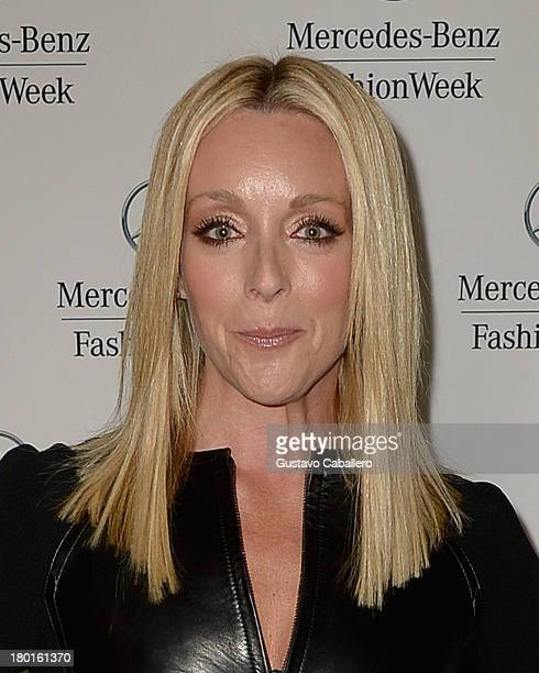 Jane Krakowsk attends the Day 5 MercedesBenz Fashion Week Spring 2014 at Lincoln Center for the Performing Arts on September 9 2013 in New York City