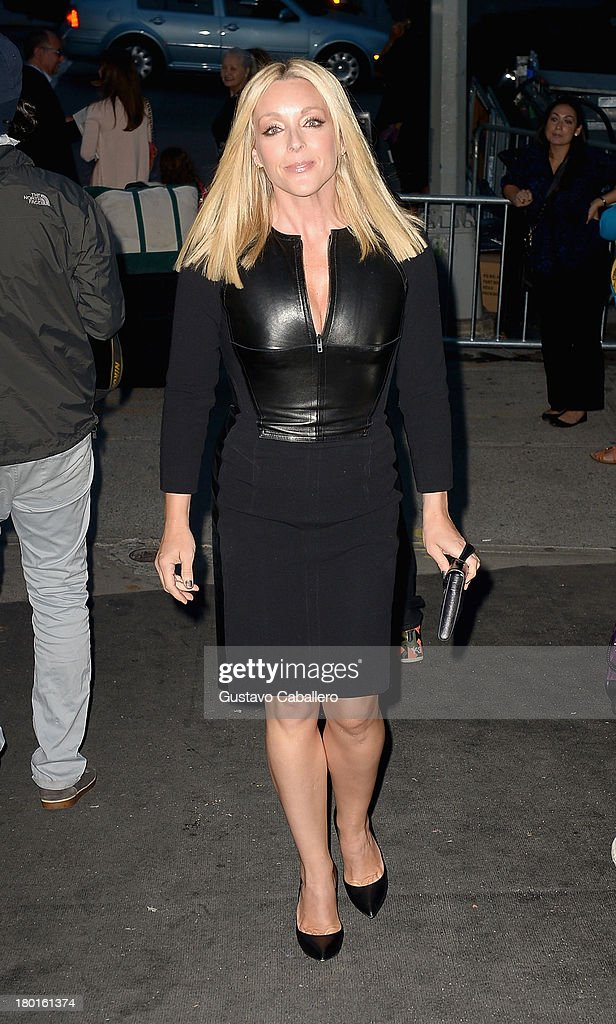 Jane Krakowsk attends the Day 5 - Mercedes-Benz Fashion Week Spring 2014 at Lincoln Center for the Performing Arts on September 9, 2013 in New York City.