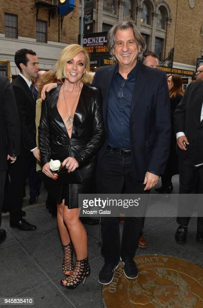 Jane Krakowski and David Rockwell attend the opening night for Carousel on Broadway at Imperial West on April 12 2018 in New York City