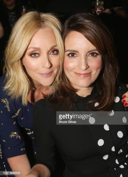 Jane Krakowski and honoree Tina Fey pose at the 34th annual CSA Artios Awards at Stage 48 on January 31 2019 in New York City