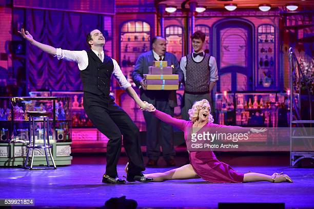 Jane Krakowski and the cast of She Loves Me at THE 70TH ANNUAL TONY AWARDS live from the Beacon Theatre in New York City Sunday June 12 on the CBS...
