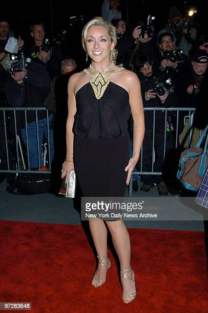 Jane Krakowski arrives at the Ziegfeld Theater for the New York premiere of the movie Alfie She's in the film