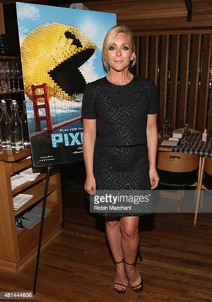 Jane Krakowski attends a Dinner Honoring The Women Of 'Pixels' at Upland on July 20 2015 in New York City