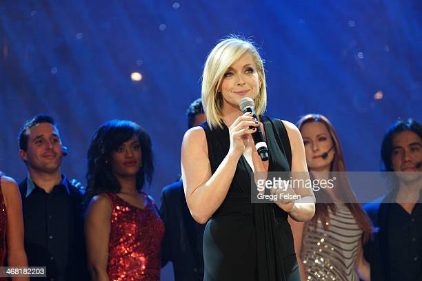 Jane Krakowski attends the 20th Annual Steve Chase Humanitarian Awards Gala at Palm Springs Convention Center on February 8 2014 in Palm Springs...