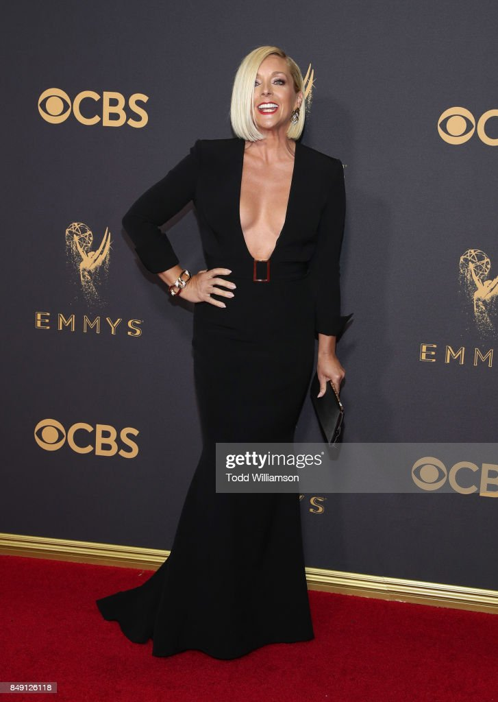Jane Krakowski attends the 69th Annual Primetime Emmy Awards at Microsoft Theater on September 17, 2017 in Los Angeles, California.