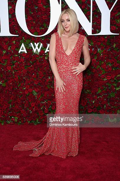 Jane Krakowski attends the 70th Annual Tony Awards at The Beacon Theatre on June 12 2016 in New York City