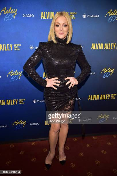 Jane Krakowski attends the Alvin Ailey American Dance Theater's 60th Anniversary Opening Night Gala Benefit at New York City Center on November 28...