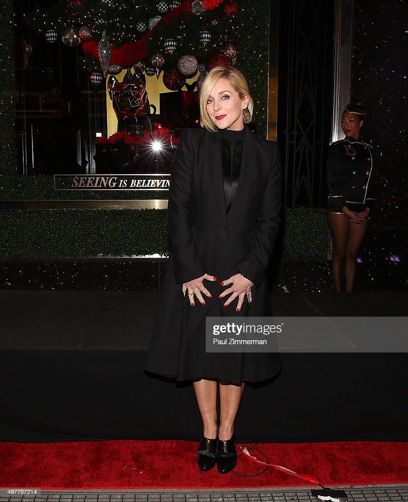 Jane Krakowski attends the Bloomingdale's 59th Street Store on November 18, 2015 in New York City.