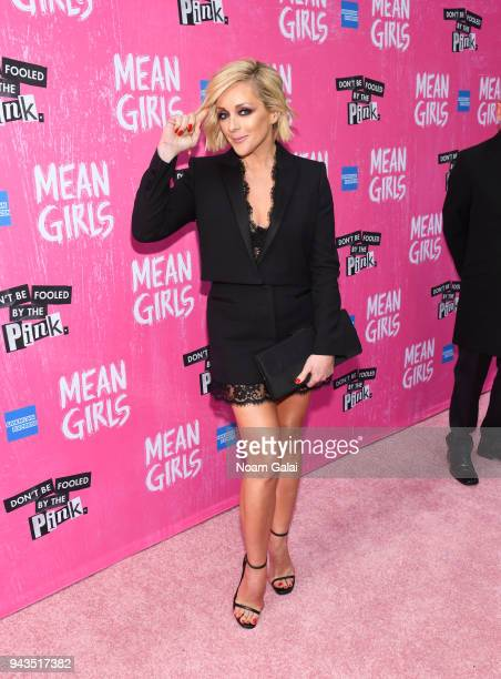 "Jane Krakowski attends the opening night of ""Mean Girls"" on Broadway at August Wilson Theatre on April 8, 2018 in New York City."