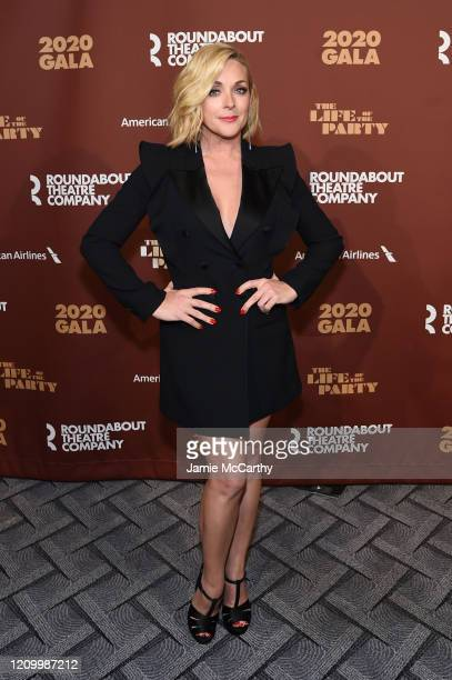 Jane Krakowski attends the Roundabout Theater's 2020 Gala at The Ziegfeld Ballroom on March 02, 2020 in New York City.