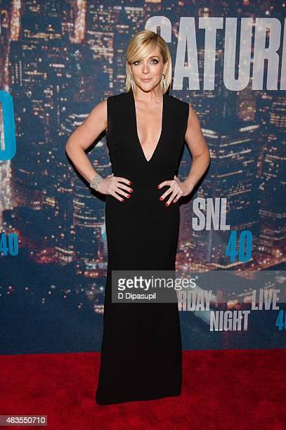 Jane Krakowski attends the SNL 40th Anniversary Celebration at Rockefeller Plaza on February 15 2015 in New York City