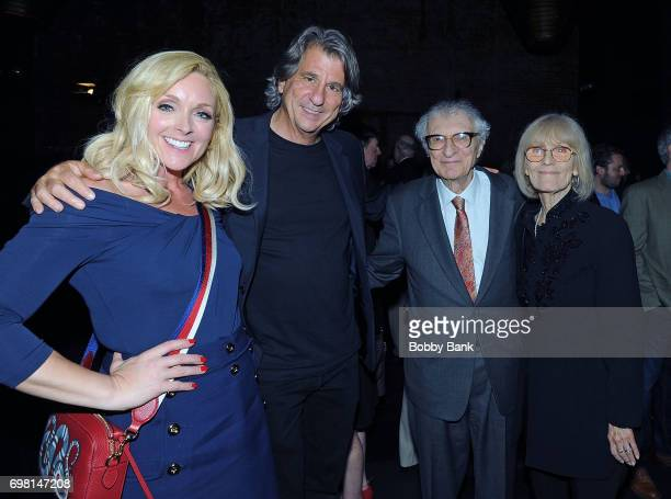 Jane Krakowski David Rockwell Margery Gray Harnick and Sheldon Harnick attend the KOI Book Launch at TAO Uptown on June 19 2017 in New York City