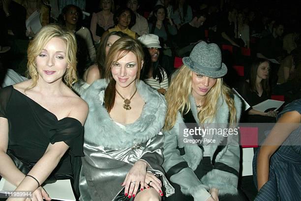 Jane Krakowski Deborah Gibson and Esther Canadas all wearing Luca Luca