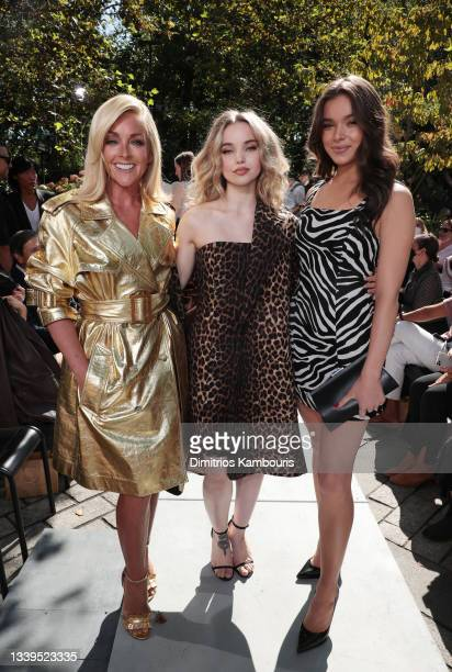 Jane Krakowski, Dove Cameron, and Hailee Steinfeld attend the SP22 Michael Kors Collection Runway Show at Tavern On The Green on September 10, 2021...