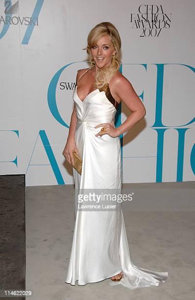 Jane Krakowski during 2007 CFDA Fashion Awards Red Carpet at New York Public Library in New York City New York United States