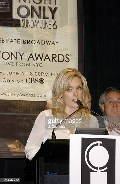 Jane Krakowski during 58th Annual Tony Awards Nominee Announcements at Hudson Theater in New York City New York United States