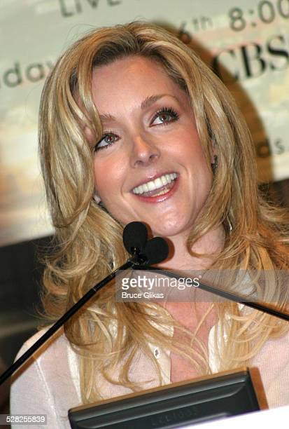 Jane Krakowski during 58th Annual Tony Awards Nominee Announcements at The Hudson Theater in New York City New York United States