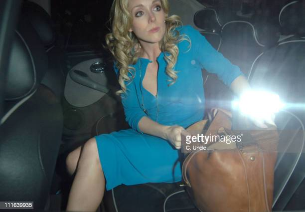Jane Krakowski during Guys and Dolls Press Night After Party at Wardour Street in London Great Britain