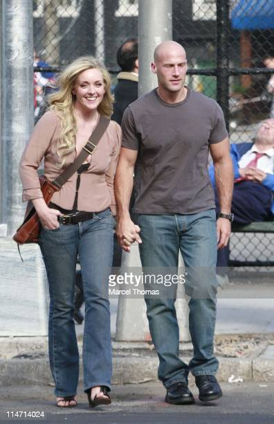 Jane Krakowski during Jane Krakowski sighting in SOHO May 5 2007 in SOHO New York United States