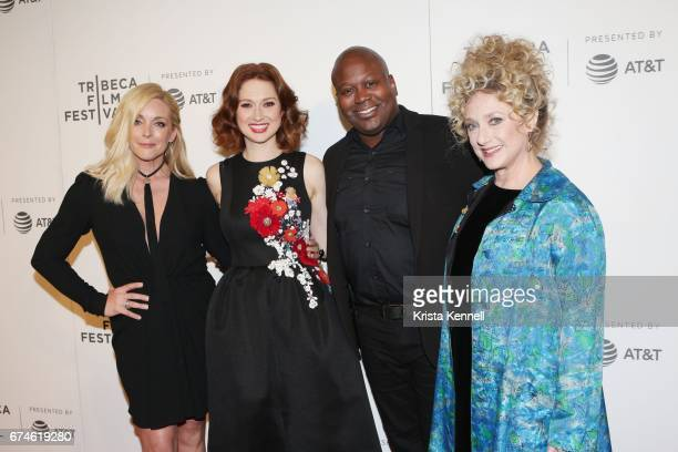 Jane Krakowski Ellie Kemper Tituss Burgess and Carol Kane attend the Unbreakable Kimmy Schmidt Screening during 2017 Tribeca Film Festival at BMCC...