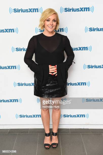 Jane Krakowski visits the SiriusXM studios on June 26 2018 in New York City