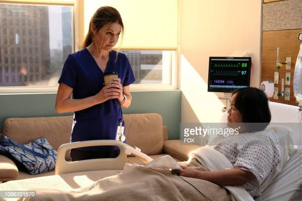 Jane Leeves and guest star Emily Kuroda n the The Germ episode of THE RESIDENT airing Monday Oct 22 on FOX