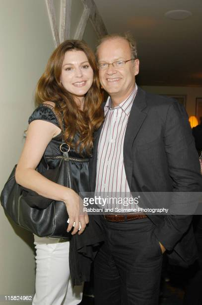 Jane Leeves and Kelsey Grammer during In Style Magazine Party at 632 Hudson in New York New York United States