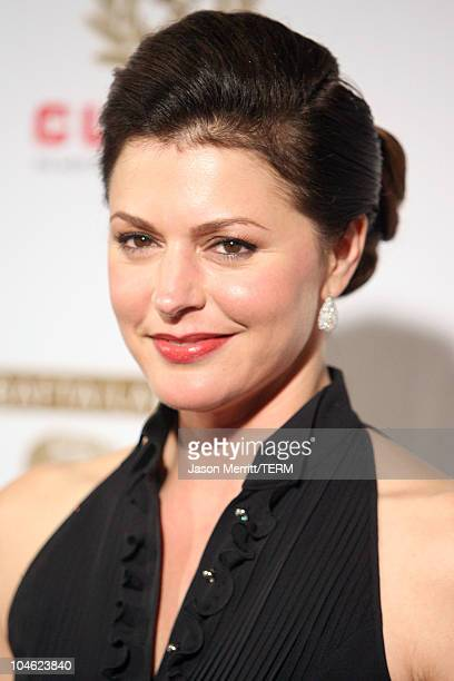 Jane Leeves during 2005 BAFTA/LA Cunard Britannia Awards Arrivals at Beverly Hilton Hotel in Beverly Hills California United States