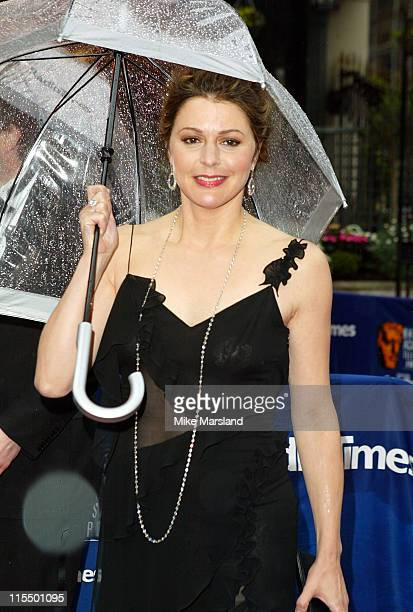 Jane Leeves during 50th Annual BAFTA Television Awards Outside Arrivals at Grosvenor House in London United Kingdom