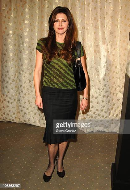 Jane Leeves during Diamond Information Center & In Style Magazine Host The 5th Annual Awards Season Diamond Fashion Show Preview at Beverly Hills...