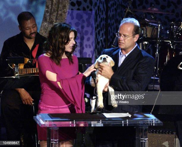 Jane Leeves Kelsey Grammer during The 10th Annual Race to Erase MS Show at The Century Plaza Hotel Spa in Century City California United States