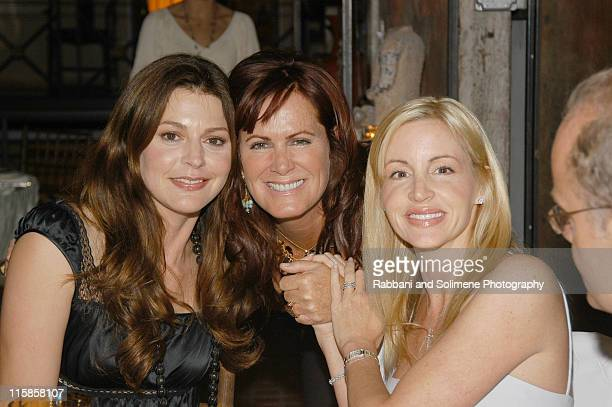 Jane Leeves Molly Madden and Camille Grammer during In Style Magazine Party at 632 Hudson in New York New York United States
